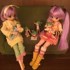 We will read together 02 (Ringochan39) Tags: anime doll yotsuba luckystar mamachapp