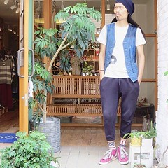 May 22, 2016 at 07:04PM (audience_jp) Tags: fashion japan shop relax tokyo pants audience style  casual sung madeinjapan    ootd