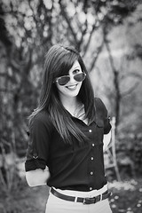 Elodie Portrait : Nikon FM : Nikkor 55 mm F3.5 AIS Micro (Benjamin Ballande) Tags: portrait nikon micro mm nikkor 55 fm elodie ais f35