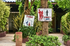 Directions! (Tungmay (Keep Calm and Take Photos)) Tags: signs thailand nikon funny toilets washroom