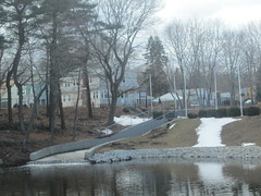Shoe Pond (allanwenchung) Tags: waterfall beverly waterbodies