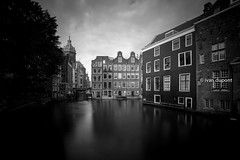 Amsterdam's Classics, Amsterdam (monsieur I) Tags: city longexposure houses water netherlands amsterdam architecture europa europe thenetherlands canals longshutterspeed housings wetreflections monsieuri