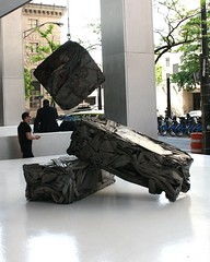 Rejected Skin, 1969 (ktmqi) Tags: newyorkcity downtown wallstreet sculpture publicsculpture abstractart rejectedskin williamtarr