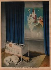 Panorama-stad Amsterdam,  1937. ill Dick van Driest  Sinterklaasprent (janwillemsen) Tags: sinterklaas 1937 magazineillustration panoramastadamsterdam