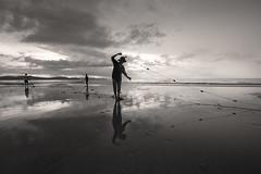 (briyen) Tags: family sunset beach fishing long icm palawan 2016