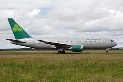 N234AX  B767-224ER  Aer Lingus (n707pm) Tags: ireland june airplane airport aircraft airline boeing shamrock ein 767 coclare 2016 b767 snn shannonairport contracted 2206 einn omniairinternational oae 767er hybridscheme n234ax cn30346 eidweinn