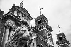 Defending (Channed) Tags: city travel italy holiday vakantie europa europe italia lion stad itali reizen veneti chantalnederstigt