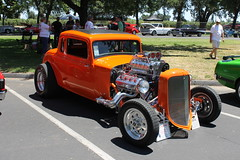 Red Hot Rod (eagle69er) Tags: show car grove micke 2016