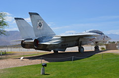 "Palm Springs Air Museum - F-14A ""Tomcat"" (Neal D) Tags: california plane airplane palmsprings navy jet tomcat grumman palmspringsairmuseum f14a"