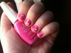 Unha primeiro ms de namoro (KassyPortilla) Tags: rosa colorama unhadenamoro