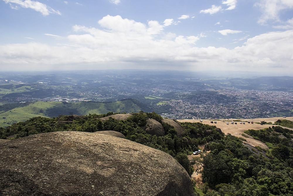 Trilha da Pedra Grande - vista do topo da pedra