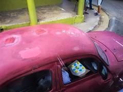 Pinar del Ro. Cuba (H.L.Tam) Tags: street cake vintagecar taxi cuba documentary sketchbook cuban iphone photodocumentary pinardelro cubantaxi cubancake iphone6s cubasketchbook