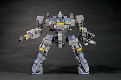Pz.Ggt.221 Thron (legoricola) Tags: toy robot lego scifi mech robotech