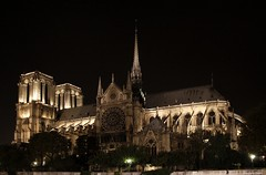 Paris by Night (Evergreen Studio) Tags: paris france night outdoor notredame lanscape