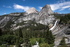 Nevada Fall (south view) (josefrancisco.salgado) Tags: california usa us waterfall nikon unitedstatesofamerica yosemitenationalpark nikkor catarata d5 cascada libertycap vernalfall mtbroderick 1424mmf28g