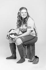 Sandra Rn (SteinaMatt) Tags: portrait girl matt photography football confirmation potrait ferming steinunn ljsmyndun ljsmyndir steina matthasdttir steinamatt sandrarngstafsdttir