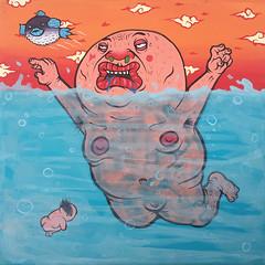 (MrOGAY) Tags: life street streetart art love wall naked graffiti fineart taiwan lifestyle pug style canvas ugly taipei hiphop spraypaint tainan piece  badboy           kimpa  ogay mrogay misterogay