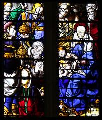 Adoration of the Magi (English glass, 16th Century) (Simon_K) Tags: cambridge college university chapel stainedglass tudor kings cambridgeshire eastanglia 16thcentury cambs