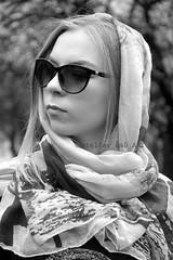 b&w (alice 240) Tags: girls portrait bw woman cinema film girl monochrome face fashion lady portraits person design blackwhite model glamour nikon women flickr poetry femme models moda dream style sensual vogue human hollywood persons rivista famale afotando alicealicjacieliczka alice240 atelier240art