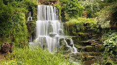 Bowood House Cascade  ( In Explore @ 456 ) (raytaylor77) Tags: landscape waterfall wiltshire cascade bowood