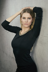 Sallina (juergenberlin) Tags: portrait woman girl beauty fashion hair long blond