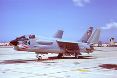 F-8H Crusader 147055 of the Philippine Air Force (JimLeslie33) Tags: island fighter force aviation air north navy olympus master chance naval 7th f8 crusader usn om1 nas vf mig pilipinas basa philippine tfs vought ltv himpapawid f8h hukbong