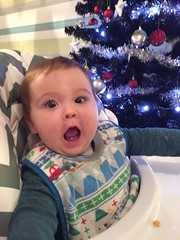It's xmassssssssss (Brabinos) Tags: twins babies shock