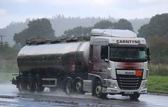DAF XF Euro 6 - CARNTYNE Transport Glasgow (scotrailm 63A) Tags: trucks tankers lorries
