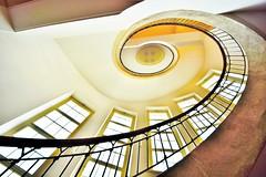 University of Weimar -Germany (Hewraman (Catching up ) :-)) Tags: germany golden weimar university staircase universitt wendeltreppe