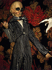 Rot skellington 2 (steamwitch) Tags: halloween bjd nightmarebeforechristmas tnbc halloweenbjd dollleavesmorton