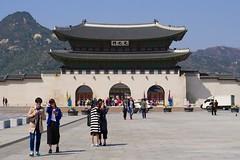 Gwanghwamun (Travis Estell) Tags: palace korea seoul southkorea jongno gyeongbokgung gyeongbokpalace gwanghwamun republicofkorea gyeongbokgungpalace jongnogu