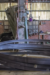 Ringen om de liftschacht (G. Warrink) Tags: architecture construction industrial steel welding engineering watchtower appelscha bosberg heuvelmanibis