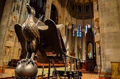 The Pulpit in St. Thomas--A Bird of Prey (Thomas Dwyer) Tags: city newyork church nikon wideangle tokina fifthavenue pulpit episcopal stthomas birdofprey 1224 thomasdwyer