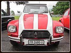 Citroën Dyane 6, 1981 (v8dub) Tags: auto old 6 classic car french schweiz switzerland automobile suisse automotive citroën voiture 1981 oldtimer oldcar collector dyane wagen pkw klassik grandvillard worldcars