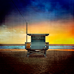 ave 26 / prcssd. venice beach, ca. 2015. (eyetwist) Tags: ocean california camera blue venice sunset orange seascape postprocessed color tower texture beach silhouette clouds photoshop square la stand losangeles los amazing saturated sand graphic pacific angeles bokeh dusk horizon wide lifeguard hut pacificocean socal venicebeach processed vignette cloudporn cortex baywatch westla apps iphone supersaturated postprocessing ofw lensblur secretrecipe angeleno oceanfrontwalk digixpro eyetwist signaltonoise 26thavenue prcssd ave26 vsco eyetwistkevinballuff vscocam mextures mexturesapp