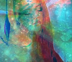 The Child Within (JangoFeldman) Tags: woman photomanipulation photoshop effects child surrealism surreal emotional textured layered picmonkey