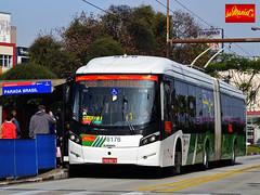 Metra - Sistema Metropolitano de Transporte (busManaCo) Tags: busmanaco nikond3100 metra metropolitano caio millennium blue azul green verde grey cinza red vermelho