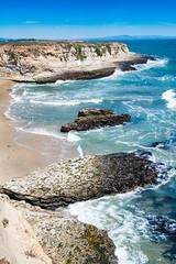 Wilder Ranch State Park near 3 Mile Beach (satoshikom) Tags: cliff santacruz beach weekend californiacoast wilderranchstatepark californiastateparks 3milebeach panasonicdmczs100