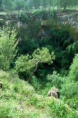 Cuenca, doline, Spanje 1993 (wally nelemans) Tags: espaa spain 1993 karst cuenca spanje kras doline karstlandschap