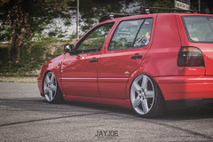 VW GOLF MK3 (JAYJOE.MEDIA) Tags: vw golf volkswagen low static lower lowered slammed stance lowlife mk3 bagged airride stanced