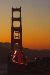 Golden Gate Bridge Sunset (arno gourdol) Tags: sanfrancisco california longexposure bridge sunset goldengate
