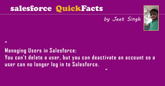 Salesforce Quick Facts (amarjeets18) Tags: training developer online salesforce admin