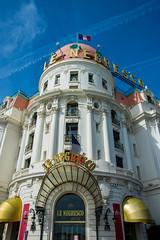 Le Negresco (lncgriffin) Tags: travel france architecture facade nice nikon europa europe historic nikkor nizza promenadedesanglais rpubliquefranaise d610 hotelnegresco nationalhistoricbuilding lenegresco 24120mmf4gvr