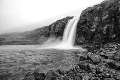 The Westfjords of Iceland (virtualwayfarer) Tags: iceland icelandic westfjords westernfjords fjor fjords europe roadtrip driving exploring canon canon6d dslr roadone road1 highway1 ringroad longexposure water bildudalur waterfall waterfalls ragingwater landscape stunninglandscape beautifulnature nature rock rocks cliff cliffs blackandwhite nordic june vikings landofsagas