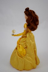 2016 Belle Classic 12'' Doll - US Disney Store Purchase - Deboxed - Standing - Full Right Rear View (drj1828) Tags: disneystore doll 12inch classicprincessdollcollection 2016 purchase belle beautyandthebeast chip deboxed standing