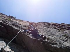 P7031910 (diegobracco) Tags: gianluca arrampicata bourcet multipitch urlodimunch