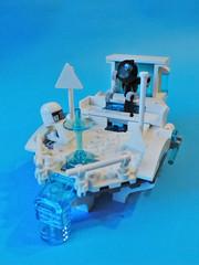 The flying balcony (joaqunechavarra) Tags: robot fantasy scifi minifig vignette minifigure moc npu purist