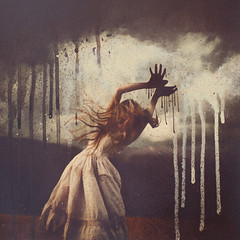 flying (brookeshaden) Tags: mixedmedia fineart collaboration surrealphotography drippingpaint brookeshaden davidlimrite
