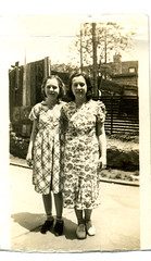 Evelyn and Isabelle Wareham mid 1930s (ectopaper) Tags: new york 1930s evelyn queens isabelle wareham