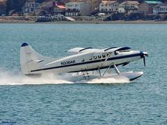 Dehavilland DHC-3T Turbine Otter (B737Seattle) Tags: canada alaska plane airplane wings downtown aircraft juneau otter airways float base turbine seaplane stol floatplane dehavilland dhc3 dhc3t n336ak